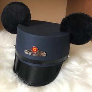 Disney Red Trolley Conductor Hat